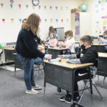 McClain FFA officers visit Greenfield Elementary