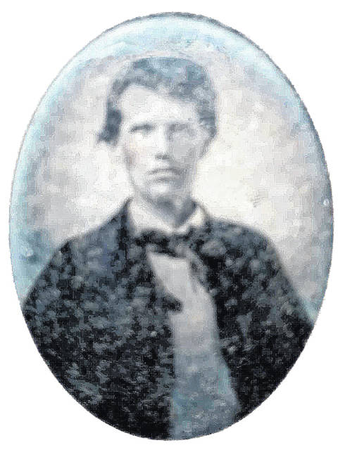 This blurry daguerreotype portrait is purported to be of William Alexander Morrow.