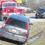 Minor injuries in Tolle Road accident