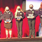 Hillsboro FFA honors degree recipients