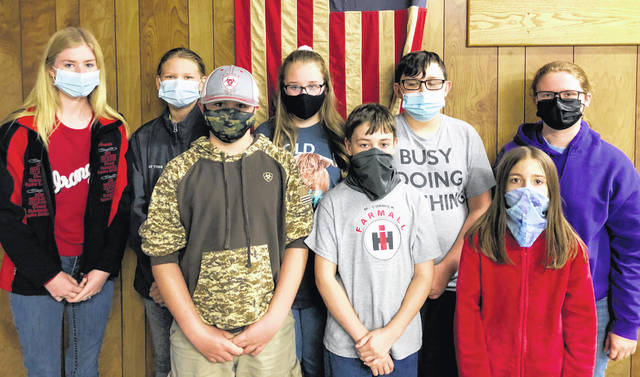 At their last meeting the Silver Spurs 4-H Club held the election of officers for 2021. The following were elected: president, Andrea Kelch; vice president, Cole Mason; secretary, Kaylynn Thompson; treasurer, Trenton Gulley; historian, Ashlynn Wilson; safety officer, Alaina Best; recreation, Kasyn Allen; and news reporter, Amanda Hitt. The next meeting will be held Thursday, April 22 at 6:30 p.m. The Highland County Firefighters Association will host an open horse show Sunday, May 16 at 9 a.m. at the Highland County Fairgrounds with the proceeds to benefit the Silver Spurs 4-H Club.