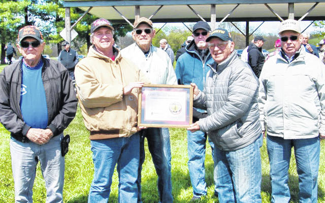 Pictured, from left, are Bob McFarland, Jeff Collins, Harley Maines, Ron Bogart, John Levo and Lee Bishop.