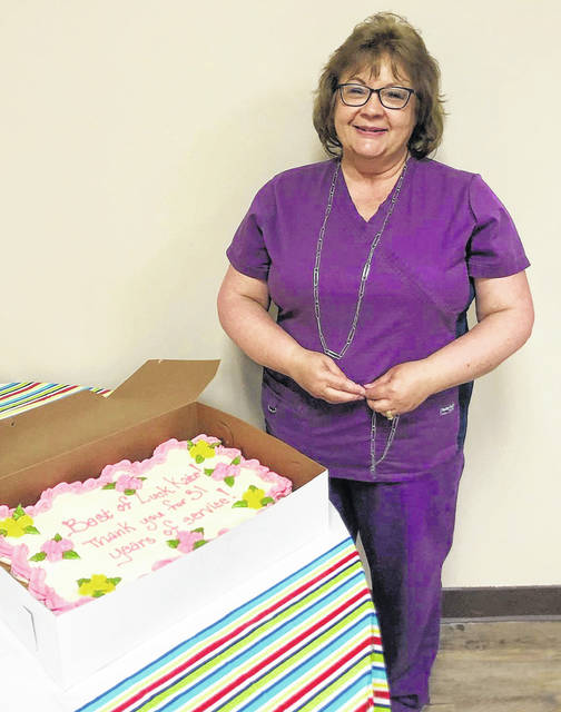 Kate Lewis is retiring from the Highland County Health Department this month.
