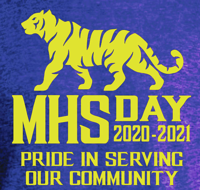 Pictured is the T-shirt design that McClain High School students and staff will wear on MHS Day, scheduled for Friday, May 14.