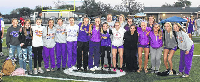 The McClain High School girls track and field team captured the 2021 Frontier Athletic Conference track and field championship, outdistancing runner-up Miami Trace by 25.5 points.