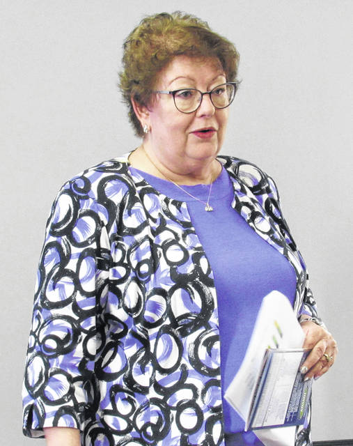 Penny Dehner, executive director of the Paint Valley Alcohol, Drug Addiction and Mental Health Services Board, briefed the Highland County Commissioners Wednesday on the organization's progress this past year.