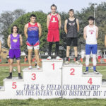 Richards two-time district track champion