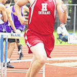Hillsboro scenes from district track and field meet
