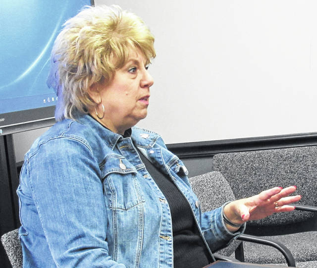 Teresa Lewis, regional director from the Peebles office of Rep. Brad Wenstrup, initially offered assistance to the Highland County commissioners Wednesday in the close-out of the cancelled Rocky Fork Lake improvement grant, but the discussion soon turned to employers unable to hire workers who she said were enjoying generous unemployment benefits.