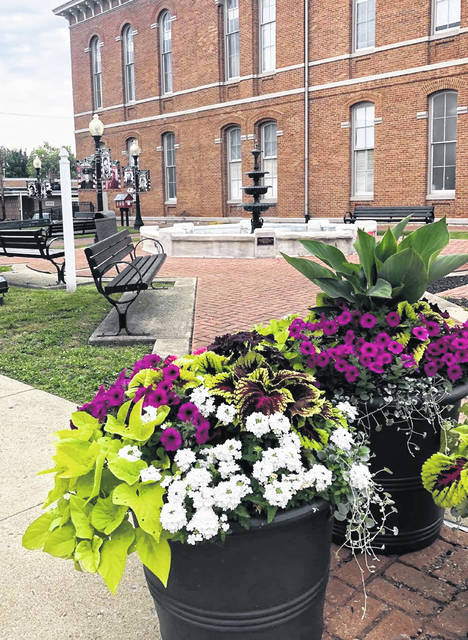 The courtyard at the Greenfield City Building will be the location of a hiring event set for Thursday, July 1.