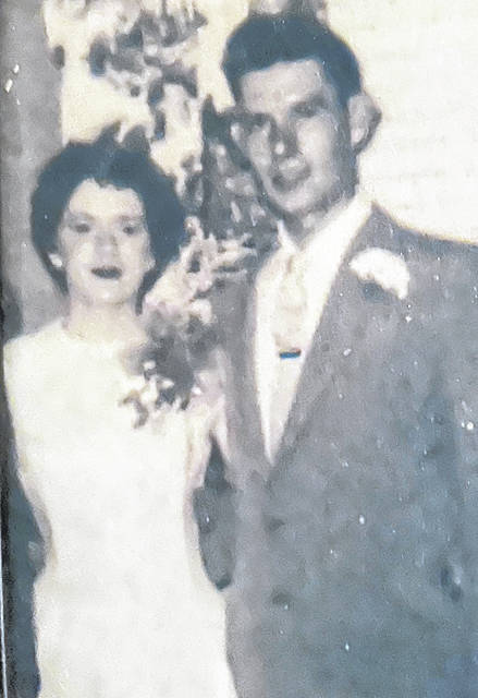 Glen and Mary Herdman will be married 66 years on July 1, 2021. The current Lynchburg residents were married on July 1, 1955. They are shown on their wedding day and in a more recent photograph.