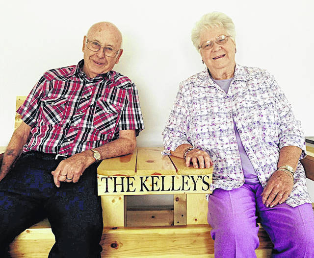 Hayes and Violet Kelley celebrated their 70th wedding anniversary on Saturday June 26, 2021. Their family includes children, Deborah (Richard) Tissot and Dixie (Dennis) Overstake; and grandchildren, Fallon and Chris Tissot and Kayla (Jimmy) Dettwiller.