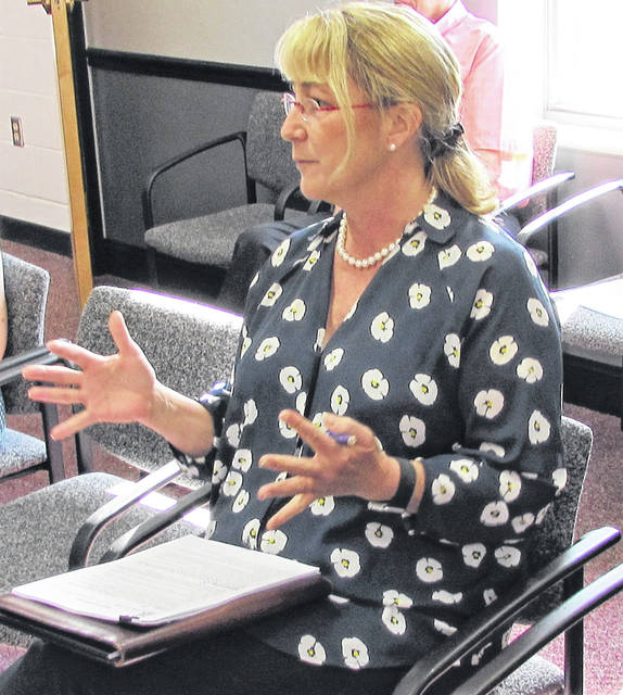 Sen. Rob Portman's Southwest District Director Nan Cahall shared with county commissioners Wednesday his concerns he has from his office in Washington, D.C., and also sought input on local government progress on utilizing American Rescue Plan Act (ARP) funding.