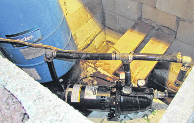 This is a shallow-well pump that is used to supply water to a residence in South Central Highland County.