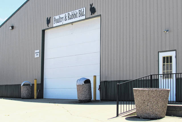The Rabbit/Poultry Building at the Highland County Fairgrounds in Hillsboro will be the site of Monday's second public hearing concerning the Palomino Solar Farm project.