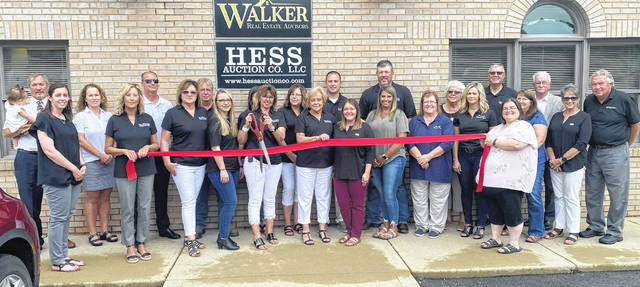 The Highland County Chamber of Commerce held a ribbon-cutting for Walker Real Estate and Hess Auction Co. as they celebrated their grand opening. These businesses have teamed up to provide a wide range of services, offering real estate listings, buyers information, and an auction company, all in one place.