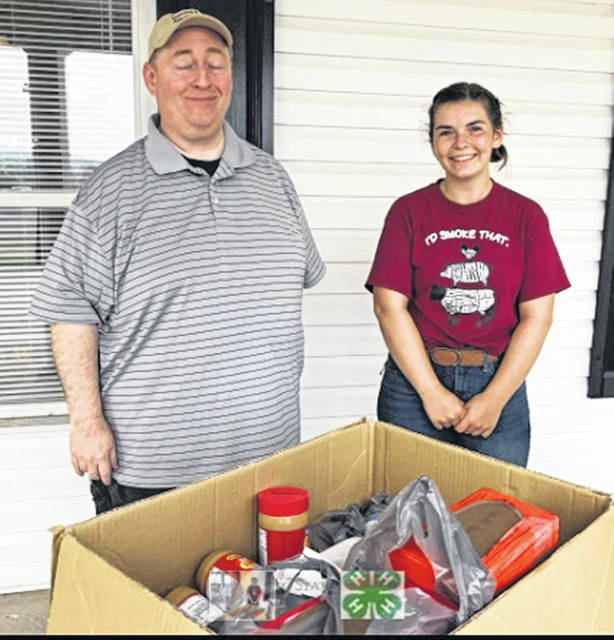 Highland County 4-H Family and Consumer Sciences Board donated non-perishable food items, that were collected during 4-H Summer Judging Awards, to the Highland County Homeless Shelter. If you would like to still contribute items, they can be dropped off at the Extension office until July 29.
