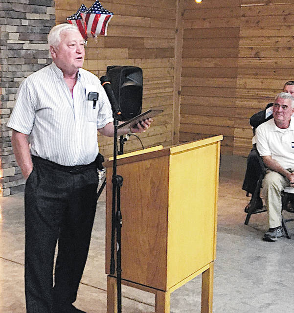 Roger Ruggles was named Highland County Republican of the Year at the party's annual Lincoln Day Dinner held Sunday.
