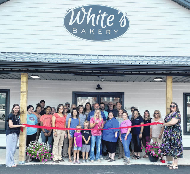 The Highland County Chamber of Commerce held a ribbon cutting for White's Bakery as they celebrated their grand opening. White's Bakery offers a wide variety of pastries, donuts, and other sweet treats.