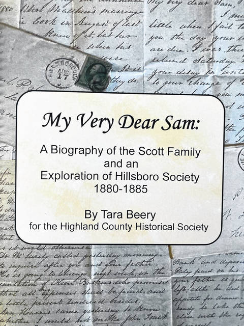 """This is a picture of the cover of Hillsboro resident Tara Beery's new book """"My Very Dear Sam."""""""