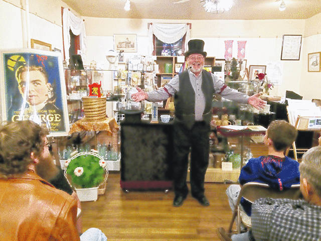 A special attraction of Saturday's Pioneer Day being presented by the Highland County Historical at the Scott House in Hillsboro will be a magic show performed by longtime Hillsboro resident Steve Faris presenting selections from his award-winning magic act as well as discussing magic history relating to Highland County. His show is scheduled for 1:15 p.m. Pioneer Day will include historic-themed booths featuring the Hillsboro, Belfast, Buford, Pricetown, Marshall, Mowrystown, Sinking Spring and New Market communities, along with booths from the Highland County, Greenfield, Leesburg and Lynchburg historical societies. There will be food available for purchase and a plethora of other historic attractions. It runs from 9 a.m. to 4 p.m.