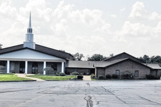 The Hillsboro Bible Baptist Church on S.R. 124 just east of the town is shown in this picture.