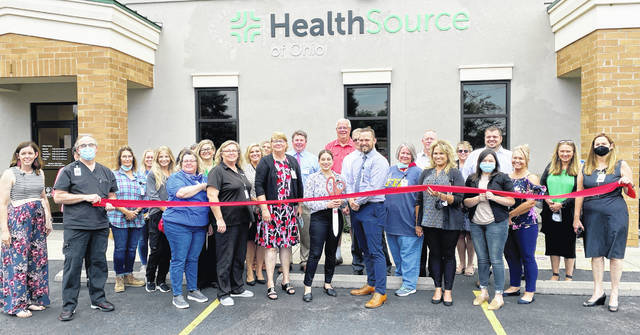 HealthSource Hillsboro celebrated 45 years in business with a ribbon0-cutting with the Highland County Chamber of Commerce, along with friends, family and members of the community on Aug. 10. Located at 1108 Northview Drive in Hillsboro, HealthSource has been providing quality care for residents in Hillsboro and surrounding areas. HealthSource has both family and pediatric professionals at its Hillsboro location and is open Mondays through Friday. To learn more call 937-393-5781 or visit healthsourceofohio.org.