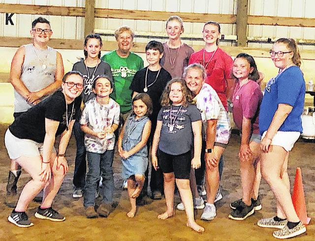 The Silver Spurs 4-H Club had its annual cookout July 31. They also played Olympic-themed games. In just a week the club will be arriving at their biggest event of the year, the Highland County Fair. At the fair each exhibitor from the club will decorate their horse's stall and the public will be able to vote for their favorite stall. So swing by the horse barn and cast your vote.