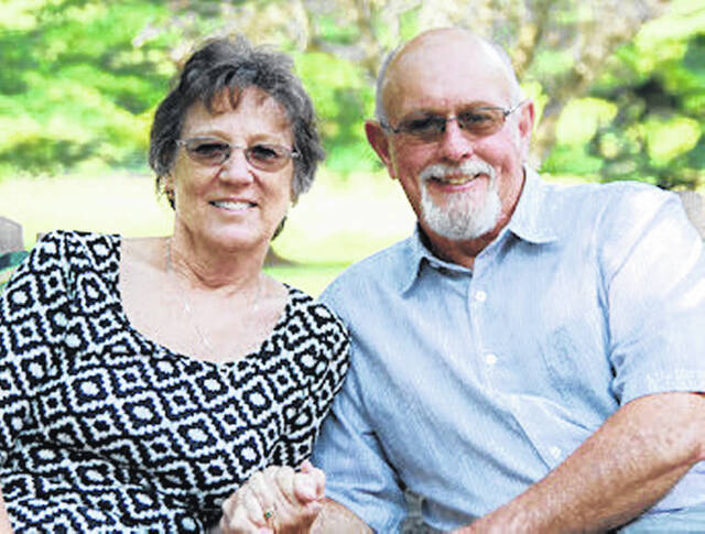 John C. and Diana L. Jones have announced their 50th wedding anniversary on Sept. 12, 2021. They were married at the First Presbyterian Church on Sept. 12, 1971 by the Rev. Dean Montgomery. Family and friends joined them Saturday, Sept. 11 to celebrate.