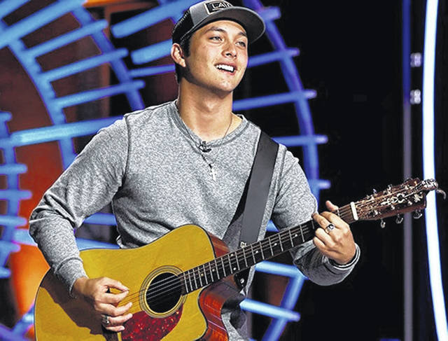 Laine Hardy will be in concert at 7 p.m. Friday on Main Street in Wilmington.