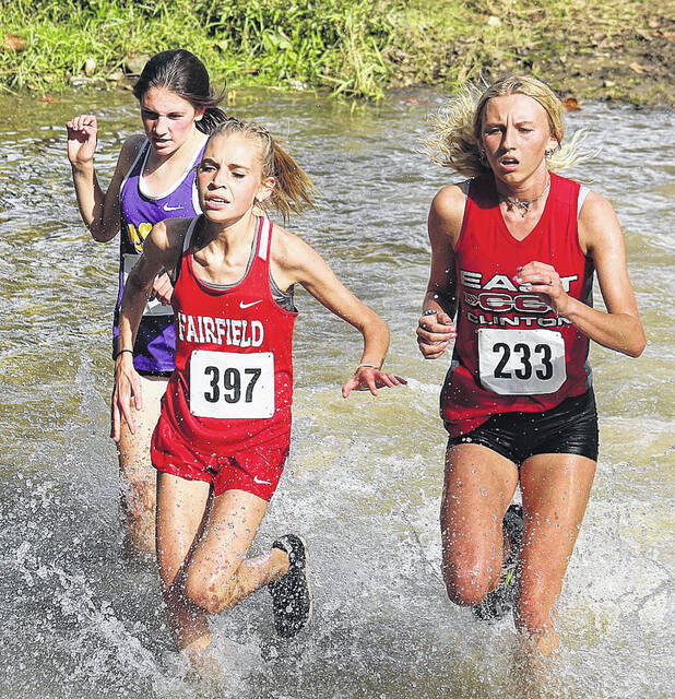 Fairfield freshman Aylay Humphreys finished 21st out of 146 runners last week at the Washington C.H. Cross the Creek Invite.