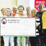 Elks donates to Meals on Wheels
