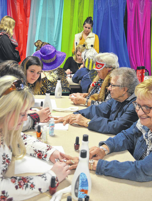 The Highland County Senior Citizen Center will host a Healthy Halloween Senior Expo from 10 a.m. to 1 p.m. Tuesday, Oct. 12. Pictured above is a scene from the 2018 senior expo held inside the center. This year's expo will be held outside in the senior center parking lot.