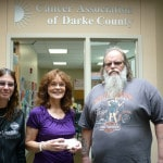 Cancer Association receives donation from Standing up for Darke County event