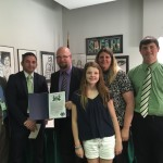 Mandel recognizes Greenville worker with award