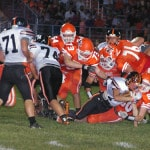 Turnovers hurt Ansonia football team in loss to National Trail