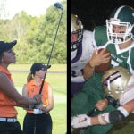 Guillozet, Heitkamp named athletes of the week