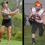 Justice, Shaffer named athletes of the week