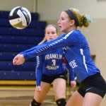 Franklin Monroe volleyball team sweeps Tri-Village