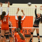 Arcanum volleyball team wins despite struggles vs. National Trail