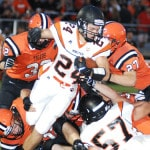 Versailles football team fails to capitalize in loss to Minster