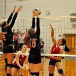 Ansonia volleyball team swept by Twin Valley South