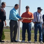 VFW donates $1,200 to Arcanum-Butler Local Schools for United States flag, flag pole