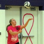 Greenville volleyball team swept at Eaton