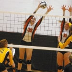 Versailles volleyball team loses to No. 3 ranked Monroeville