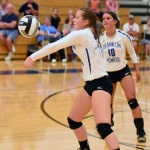 Franklin Monroe volleyball team sweeps Mississinawa Valley