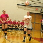 Mississinawa Valley volleyball team mounts comeback, beats Bradford