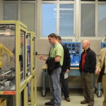 Locals celebrate GHS Advanced Manufacturing lab opening