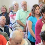 Area residents speak out against planned hog farm construction northwest of Greenville