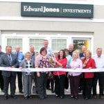 Darke Co. Chamber conducts ribbon-cutting ceremony at Edward Jones reopening